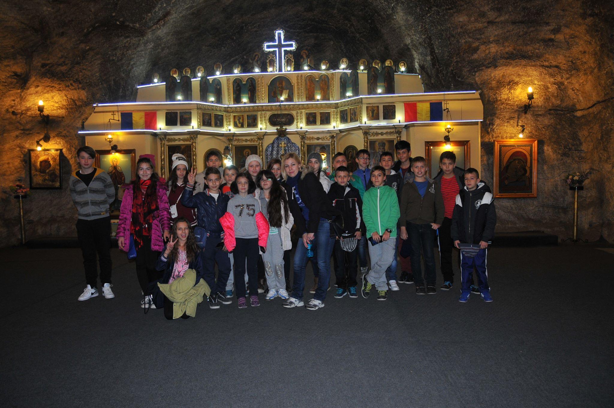 Excursie la Salina Târgu Ocna și la Parc Aventura